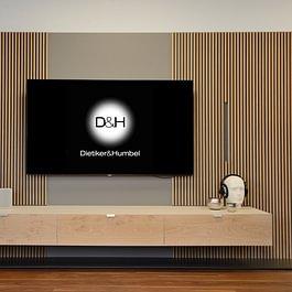 Elegante TV- und Audio-Möbel nach Ihrem individuellen Wunsch: SwissHD