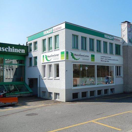 Maschinencenter Wittenbach AG - Gebäude
