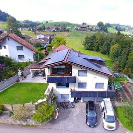 Solaranlage Werthenstein/Ruswil