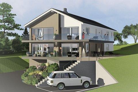 ST-LÉGIER-LA CHIÉSAZ-Spacieux appartement vue sur le lac-136.5M2 Rez-de-chaussée