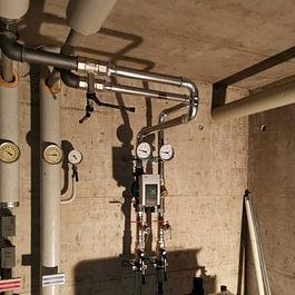 Installationsanschluss einer Wärmepumpe an eine bestehende Anlage