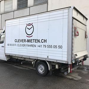MERCEDES SPRINTER Kastenwagen mit Hebebühne