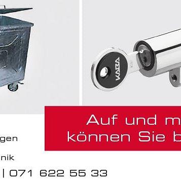 Conrad AG, Weinfelden - Briefkasten und Container