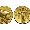 Macedonia - Alessandro III (336-323 a.C.), Statere d'oro, 330-320 a.C., Amphipolis, ORO (19 mm - 8.49g.)