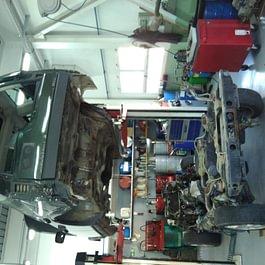 Atelier Land Rover