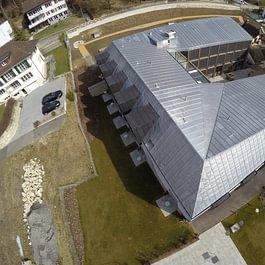 Construction EMS, toiture en ferblanterie zinc