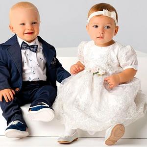 Taufe Bekleidung Mädchen und Junge