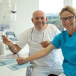 Dr.Schellenbaum und DA Evelyne