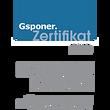 Zertifizierung aller Kundenberater in enger Zusammenarbeit mit der Firma Gsponer Management Consulting