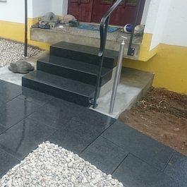 escaliers en granit