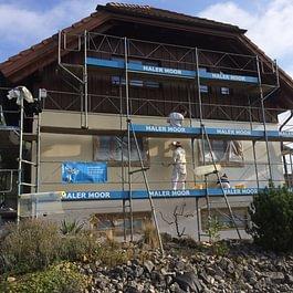 Fassadenrenovation mit Gerüstbau