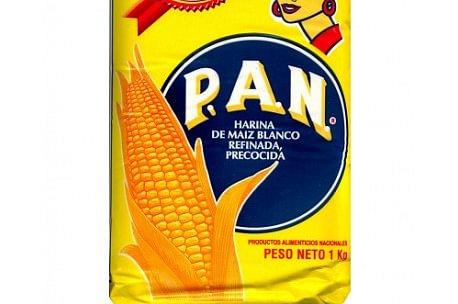 harina Pan de Maiz blanca 1k