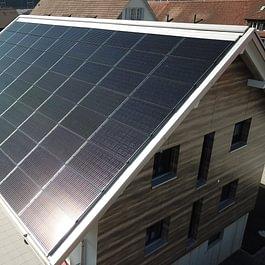 Indach Photovoltaikanlage Arres Solarmarkt Aarau