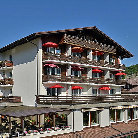 Restaurant, Hotel Brienz Berner Oberland