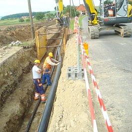 Raccordement de Praratoud, collecteur EU, STAP et eau potable à Surpierre - année 2011 - 2013