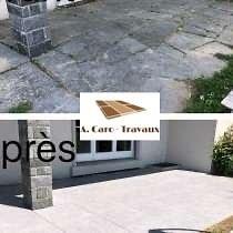"Terrasse ""Avant / Après"""