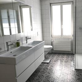 grosszügiges Badezimmer