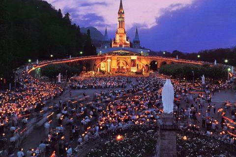 Pilgerfahrt nach Lourdes 05. - 08. Oktober 2018