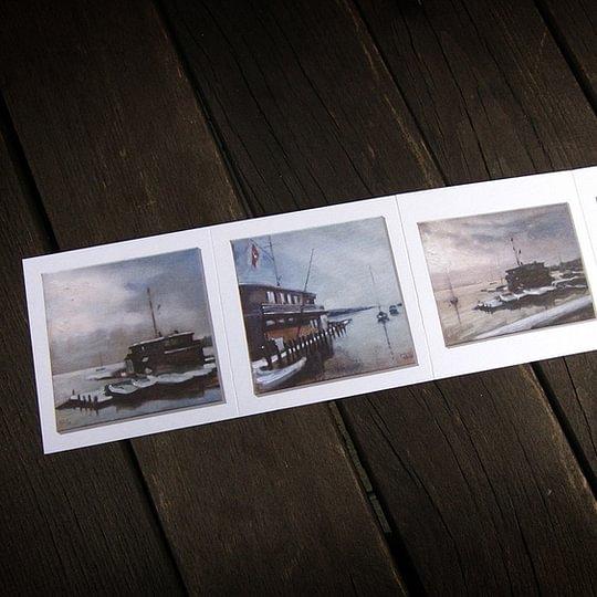 Falzkarten © Druckerei Robert Hürlimann