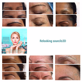 Dermographie hairstroke microblading maquillage semi permanent