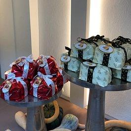 Unsere feinen Panetone zur Adventszeit aus Italien.