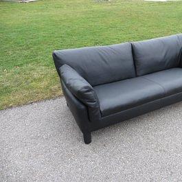 Artanova Sofa teilweise in Leder neu beziehen - perfekte farbliche anpassung, oder sehene Sie den Unterschied?