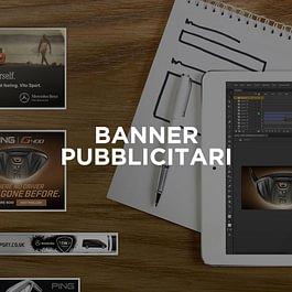Banner pubblicitari: creazione grafiche pubblicitarie