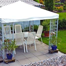 Pavillon-Dachblachen (stark + witterungsbeständig)