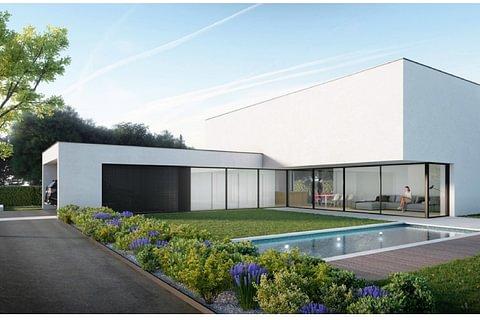 Magliaso Nuova e moderna villa da costruire in vendita