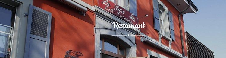 café restaurant la gare