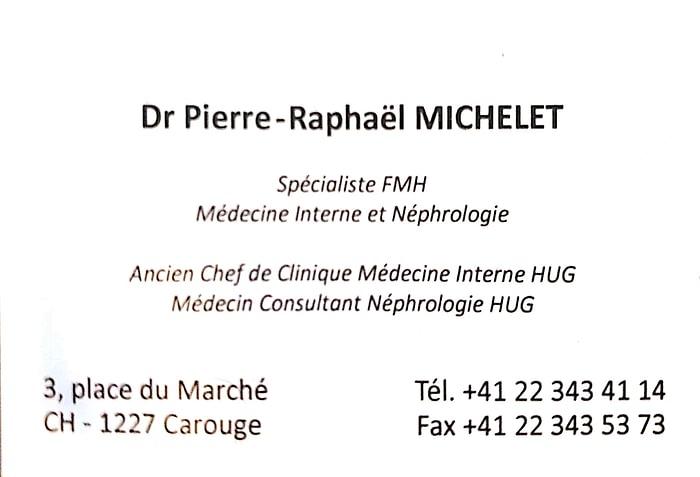 Dr Michelet Pierre-Raphaël