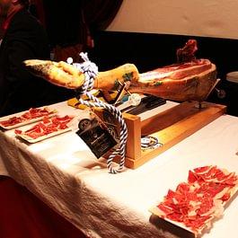 Cortador de jamon, ein Hingucker an jedem Event