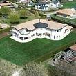 Villa de 8 pièces à Pont-La-Ville vue imprenable sur le Lac de Gruyère