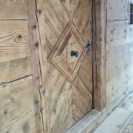 Restauration einer Altholzhaustüre