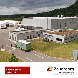 Zaunteam-Industrie und Sicherheit