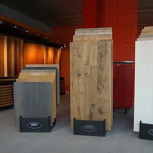 Showroom Pavimenti, parquets, sughero. Ticino