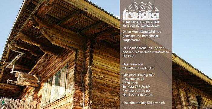 Freidig Chalet-Bau AG