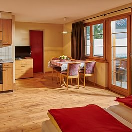 Appartment Küche, Central Hotel Wolter Grindelwald