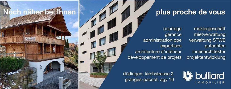 Nouveau : nous vous accueillons aussi à Düdingen