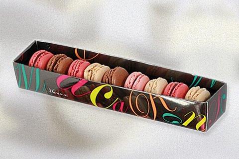boîte cadeau macarons