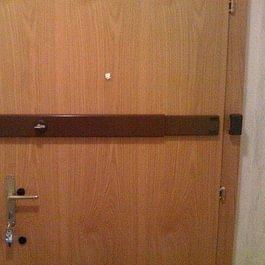 barre de sécurité marron