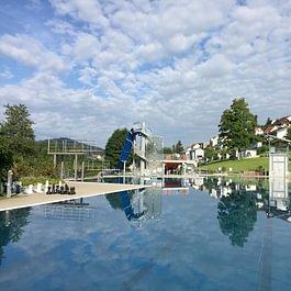 Freibad Sonnenberg, wunderschön