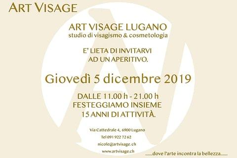 Evento a Lugano - Aperitivo Giovedi' 05 Dicembre 2019