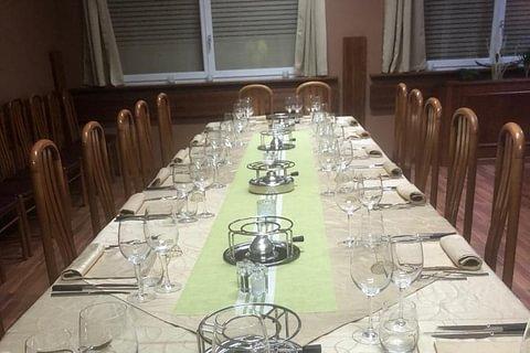 Banquet et salle de conférence
