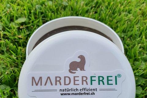 Marderfrei Paste für feuchtigkeitsexponierte Stellen wie Auto, Garten, etc..