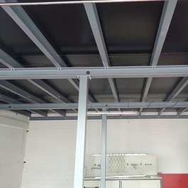 Stahlkonstruktion Zwischenboden