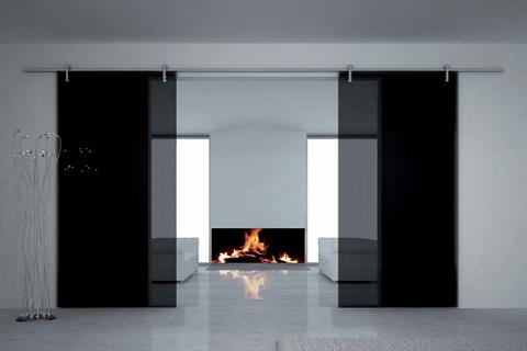 Glas im Wohnbereich - Glasschwenktüren/Trennwände/Glasgeländer/Wandverkleidungen