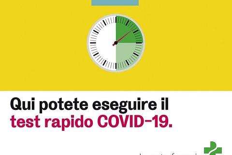 Test  rapido Covid-19 su appuntamento