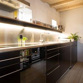 Küche in Sperrholz