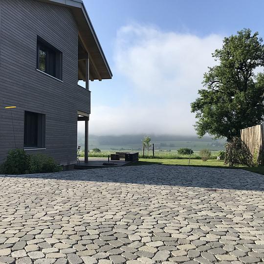 Balsiger Gartengestaltung GmbH, Plästerung